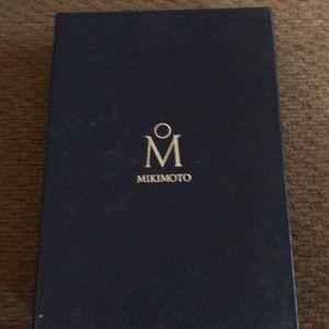Mikimoto black pearl with diamonds NO BUNDLES